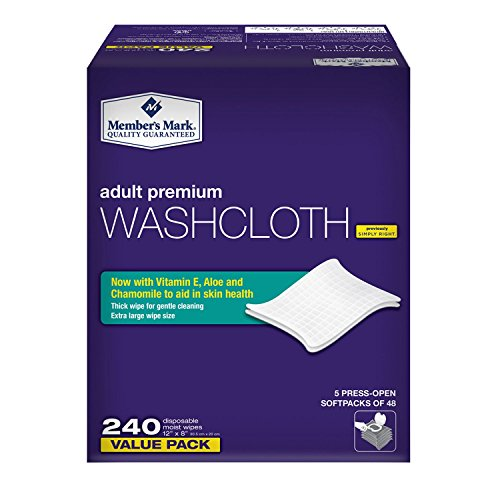 Excelcare Adult Washcloth Disposable Moist Wipes – A Must Have for