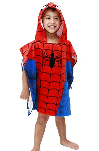 Marvel Avengers Ironman Hooded Poncho – TomorrowYours